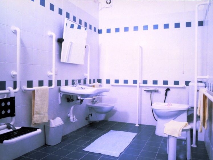 bathrooms for the disabled