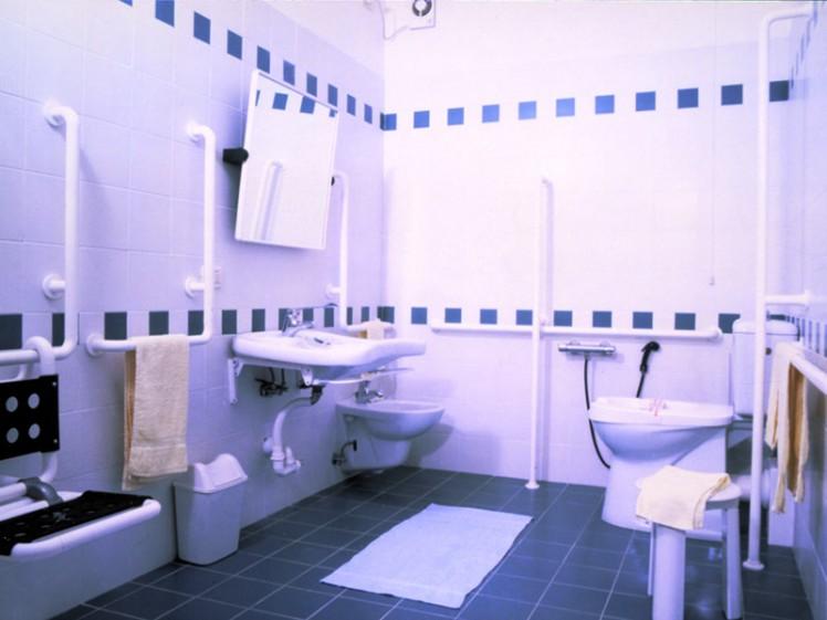 bagni per diversamente abili